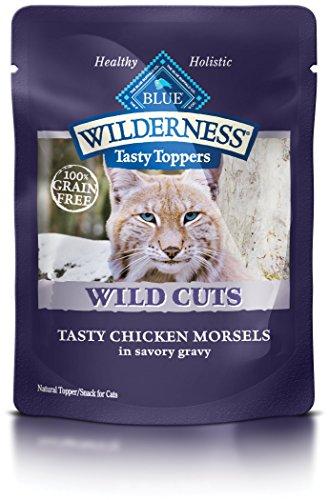BLUE Wilderness Tasty Toppers Wild Cuts Grain Free Tasty Chicken Morsels in...