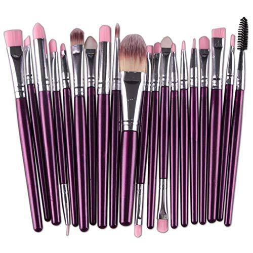 SDK Kit de Pinceau de Maquillage Foundation Foundation Foundation Fard à paupières Maquillage Brush Lady Cosmetic Tools, 12
