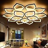 YASHANG Luz De Techo LED Simple Posmoderna Acrilico Lampara De Salon Creativo Personalidad Estudio Dormitorio Iluminación