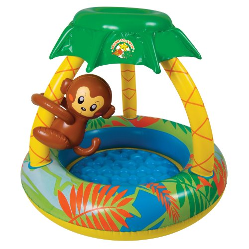 Our #4 Pick is the Poolmaster 81610 Go Bananas Monkey Swimming Pool