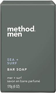 Method Men's Bar Soap Sea Surf 6oz, pack of 1