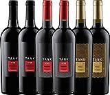 6er Kennenlernpaket - TANK Weine von Cantine Minini | italienischer Rotwein | Wein aus Sizilien | 6 x 0,75 Liter