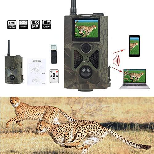 Sale!! QLPP 3G Trail Camera,12MP 1080P Wildlife Camera Trap,2.0''TFT Screen with Infrared Night Visi...