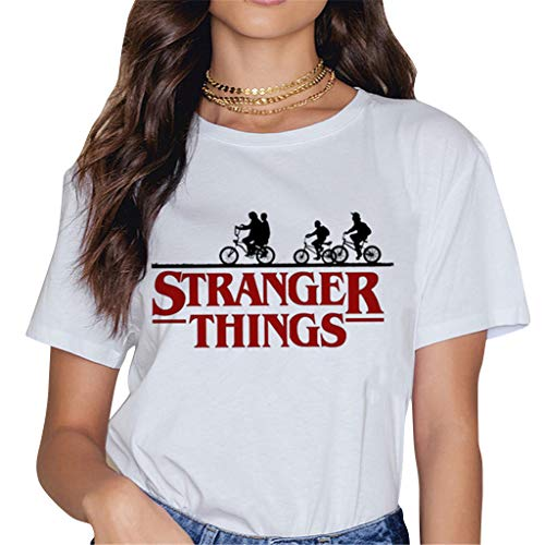 Camisetas Stranger Things Mujer, Camisetas Stranger Things