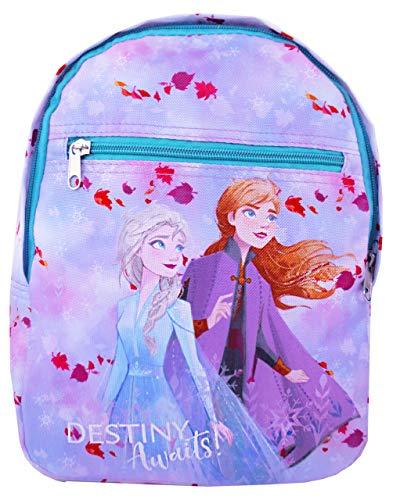 Disney Frozen 2'Destiny Awaits' Anna and Elsa Girls Character Backpack