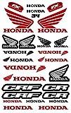 Kit DE Pegatinas Fox Pegatinas Motocicletas PATROCINADORES COMPATIBLES para Casco Honda Yamaha KTM Cross Enduro (34)