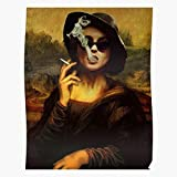 gotopo Trendy Young Gril Smoking Mona Music Lisa Boy