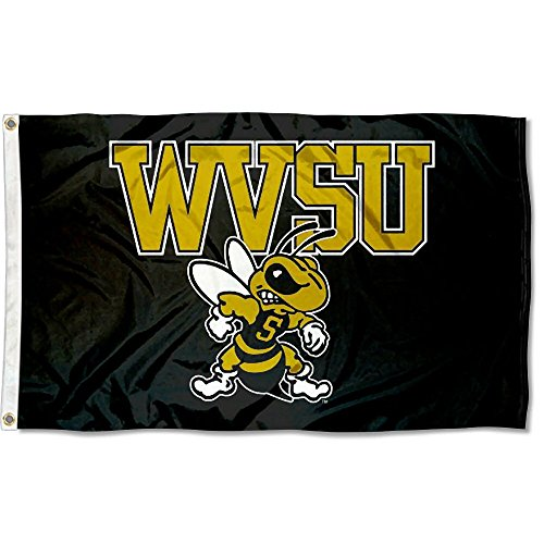 College Flags & Banners Co. West Virginia State Yellow Jackets Flag