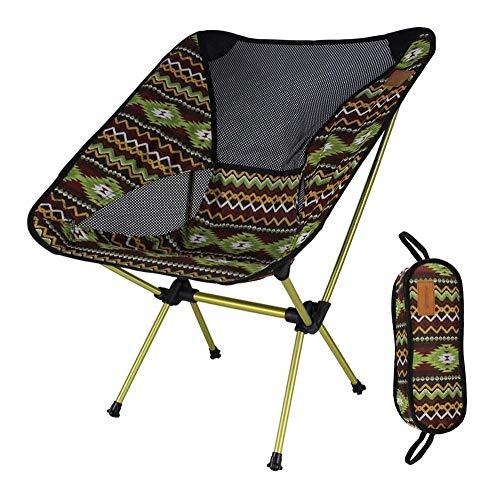 Sedie da Campeggio Sedia da Campeggio Sedia Pieghevole Leggera Portatile All'aperto con Borsa for Escursionismo Pesca BBQ GCSQF (Color : B)