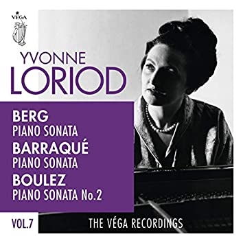 Berg, Barraqué, Boulez: Piano sonatas