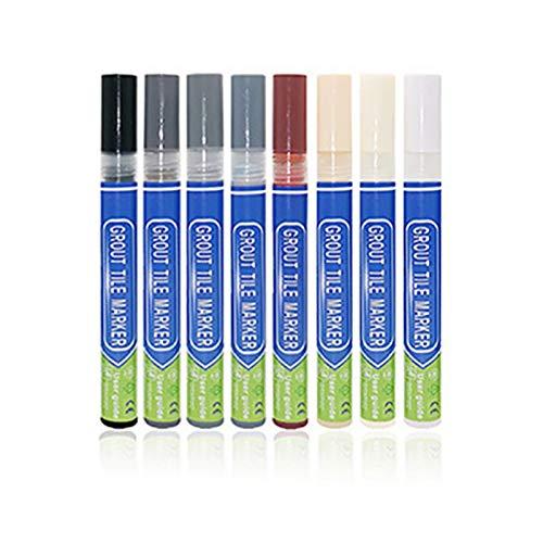 HUANRU 8 lápices para juntas, para azulejos, lechada y suelos, para reparar huecos