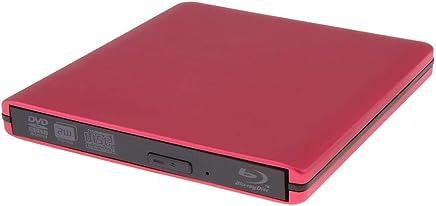 QinLL 3.0 USB External Burning Blu-ray Drive,DVD VCD CD Blu-ray Burner,Brushed External Mobile Driver Universal disc for Desktop//Laptop//MacBook,BC,B
