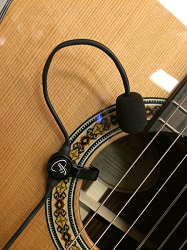 The Feather Classical Guitar Microphone with Flexible Micro-Gooseneck by Myers Pickups