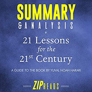Page de couverture de Summary & Analysis of 21 Lessons for the 21st Century