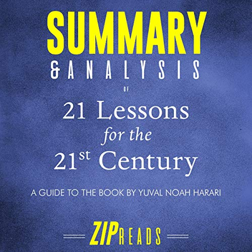 Summary & Analysis of 21 Lessons for the 21st Century audiobook cover art