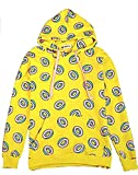 T.N.T GOT7 Doughnut Hoodie Just Right The Same Style Mark Jackson Youngjae JB Sweater Sweatershirt (Yellow,M)