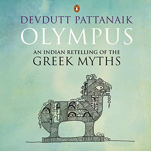 Olympus: An Indian Retelling of the Greek Myths cover art