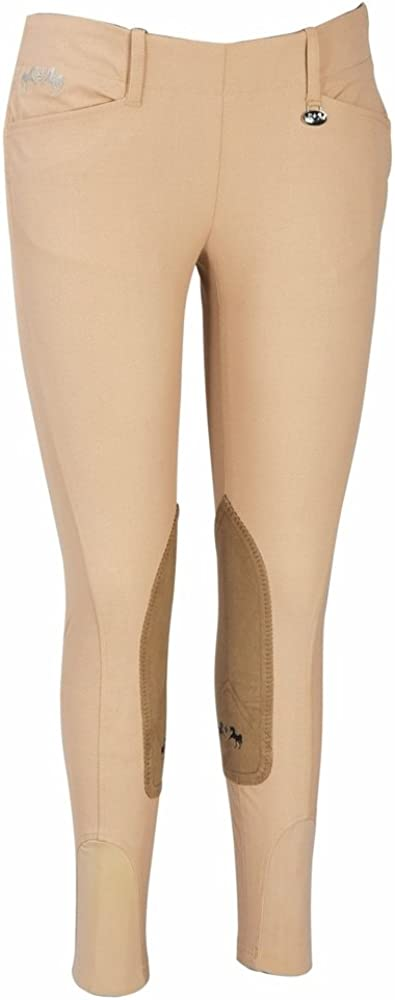 Equine Couture Women's Choice Coolmax Max 45% OFF Champion Zip with Side CS2 Breech