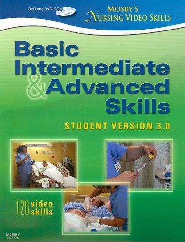 Mosby's Nursing Video Skills - Student Version 3.0, DVD...