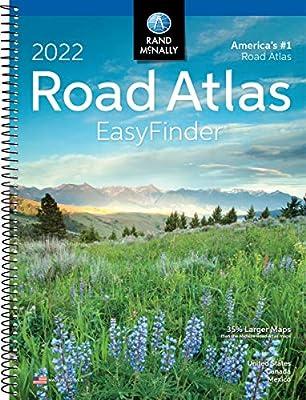 2022 Easyfinder Midsize Road Atlas (Rand McNally Road Atlas Midsize Easy Finder)