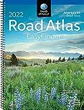 Rand McNally 2022 EasyFinder Midsize Road Atlas (Rand McNally Road Atlas Midsize Easy Finder)