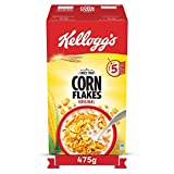 Kellogg's Corn Flakes is a nourishing and tasty ready-to-eat breakfast cereal which is High in Iron, Vitamin C and key essential B group Vitamins such as B1, B2, B3, B6, B12 and Folate. Kellogg's Corn Flakes Original is naturally cholesterol free. It...