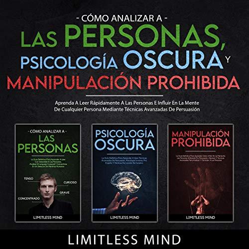 Diseño de la portada del título Cómo Analizar A Las Personas, Psicología Oscura Y Manipulación Prohibida