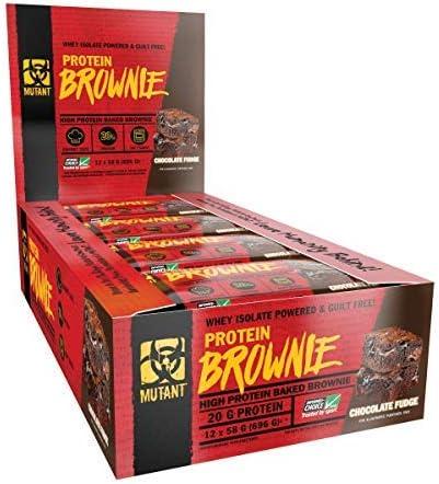 Mutant Mutant Brownie (12x58g) 12 Unidades 696 g