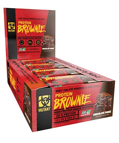 MUTANT PROTEIN BROWNIE | 20g Protein - Chocolate Fudge - 12 x 58 G