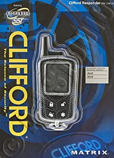 CLIFFORD Responder 7701X 2-Way 4-Button Remote 20.5X 50.5X Systems