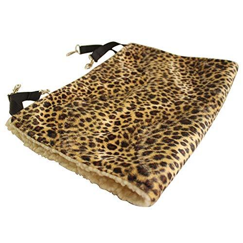 ZT TRADE Hamaca para Perros a Prueba de Agua para Gatos y Mascotas Que cuelgan Hamaca de Cama para Mascotas-Leopardo 53 * 36 cm