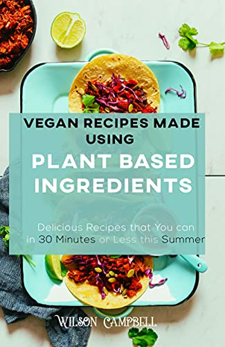 VEGAN RECIPES MADE USING PLANT BASED INGREDIENTS: Delicious Recipes that...