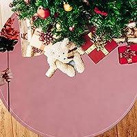 ツリースカート クリスマスツリースカート バラ ピンク 北欧 ホリデーデコレーション メリイクリスマス飾り 下敷物 可愛い 雰囲気 クリスマスパーティー 直径107cm