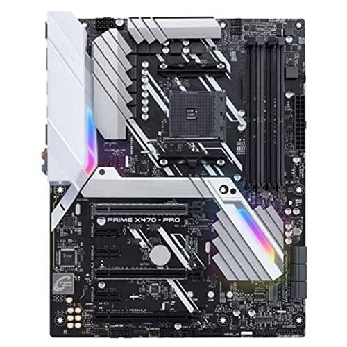 WERTYU Nuevo Fit for ASUS Prime X470-PRO Placa Base Socket AM4 DDR4 USB3.0 USB3.1 SATA3 64GB HDMI M.2 X470 Placa Base de Escritorio