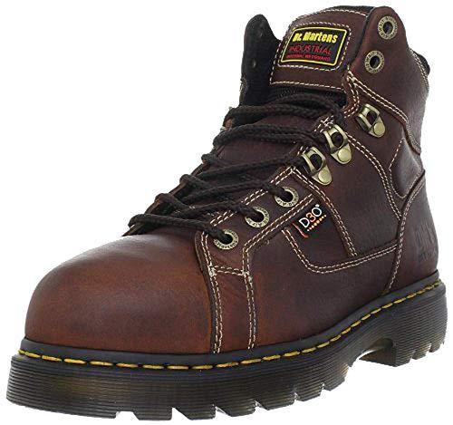 Dr. Martens Men's Ironbridge Steel IM Boot,Teak/Black,11 UK/12 M US