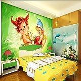 WYXYD wallpaper 3D Selbstklebender Wandgemälde Vliesstoff Wandgemälde Mehrfachgröße Netter...
