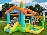 BeBop Maison Gonflable pour Enfants Grand château Gonflable et Toboggan
