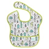 Bumkins SuperBib, Baby Bib, Waterproof Fabric, Fits Babies and Toddlers 6-24 Months – Cactus