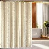 YROAR Badezimmer gepolsterte wasserfeste Schimmel Badezimmer Hotel Polyester duschvorhang bad Duschvorhang Duschvorhang, 200-200cm