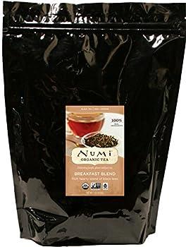 Numi Organic Tea Breakfast Blend 16 Ounce Pouch Loose Leaf Black Tea  Packaging May Vary