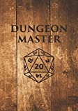 Dungeon Master: Mixed Role Playing Gamer Paper (College Ruled, Graph, Hex): RPG Journal