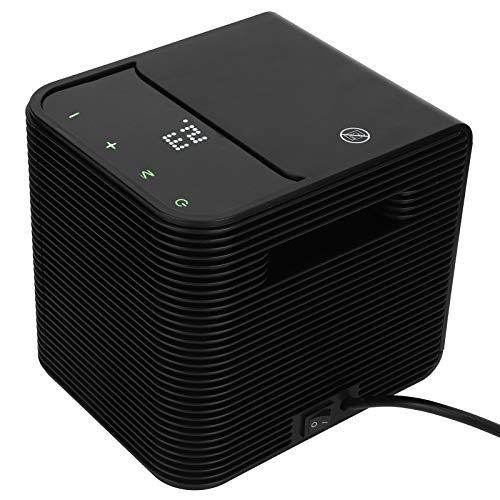 conveniente botón de pantalla táctil Mini calentador Calentador doméstico Calentador de ventilador con una placa calefactora de cerámica PTC(European standard 220V)