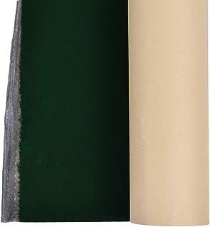 Kesheng 50x148cm Environ Tissu Velours Self-adhésif Velvet Fabric (Vert)