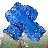 jiele Espinilleras de fútbol para niños, ligeras y transpirables, equipo de protección para pantorrillas para niños de 6 a 12 años, adolescentes,...