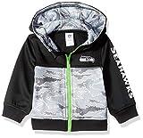 NFL Seattle Seahawks Unisex-Baby Hooded Jacket, Black, 18 Months
