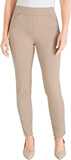Chico's Women's Travelers Collection Crepe Pants