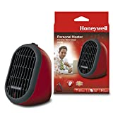 Honeywell HCE100RE4 Chauffage Mobile Rouge