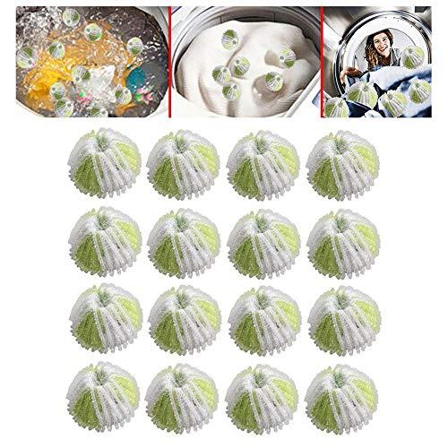 16 Stücke Haar Fussel Flusen Grabbing Wäsche Für Waschmaschine Waschen Ball Reinigung, Reinigungsmittel, Waschen Haarball, klebriger Haarball
