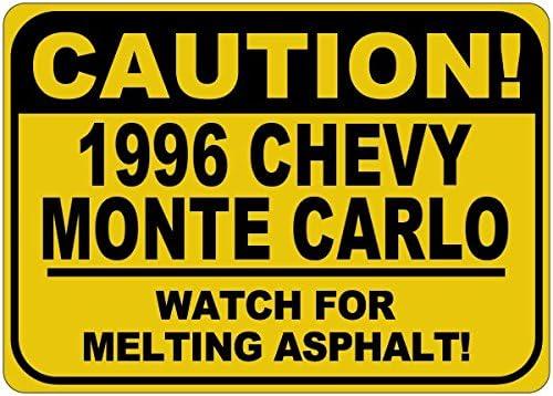 1996 96 Chevy Monte Sale SALE% OFF Carlo Caution Melting - Sale SALE% OFF Sign 18 x Asphalt 12