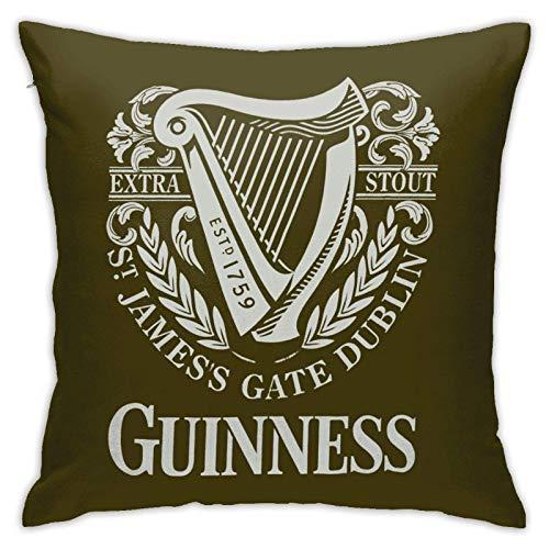 VJSDIUD Fundas de Almohada Guinness para sofá, sillón, dormitorios, Habitaciones, vehículos recreativos